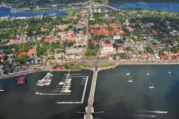 st aug aerial view dowtown-1