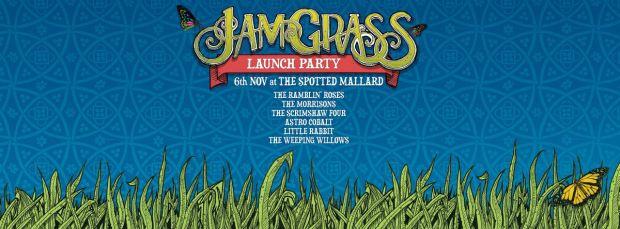jam grass launch party