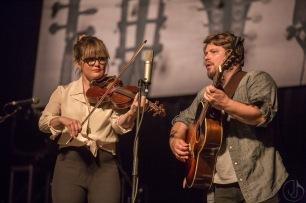 Sean Watkins (with Sara Watkins) - photo Jim Jacob