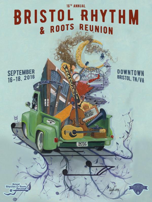 Bristol Rhythm & Roots poster 2016